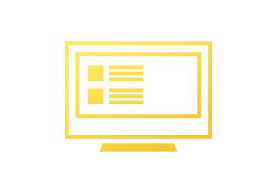 ウェブサイト制作のアイコン